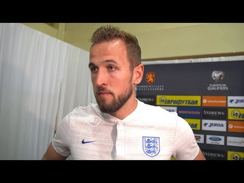 Bulgaria 0-6 England - Harry Kane Post Match Interview - Reacts To Racist Abuse In Bulgaria
