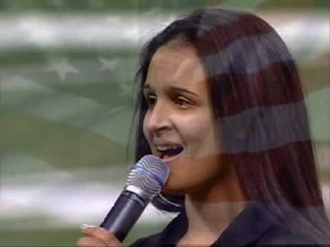 Marlene Garcia - National anthem Bands of America