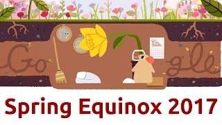 Spring Equinox 2017 Google Doodle | QPT