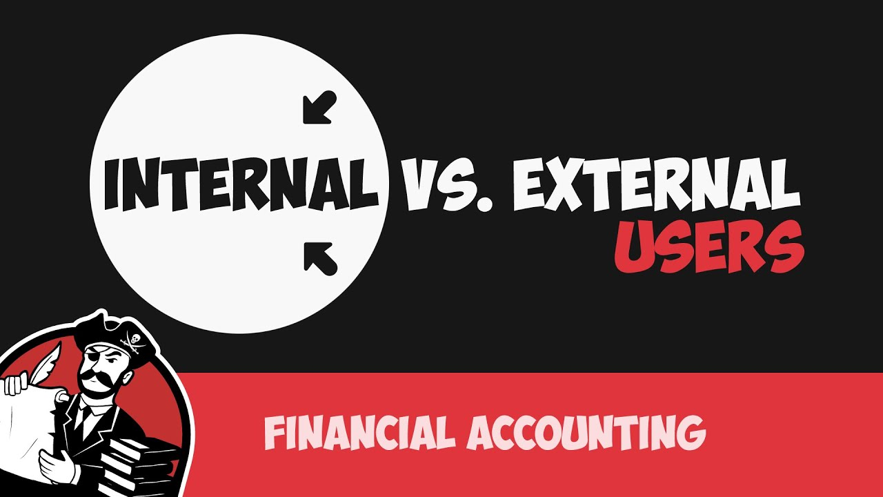 accounting information for internal and external The accounting information provided by an entity can have external as well  internal users this kind of information helps management and.