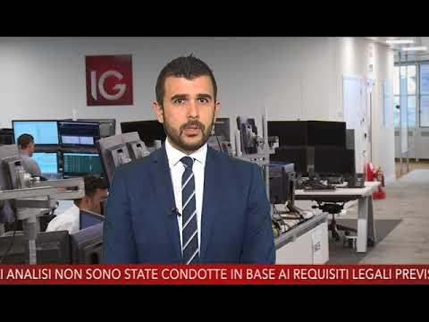 Euro/Dollaro Sostiene L'Europa In Attesa Della Bce - Market Update - 24/04/2018