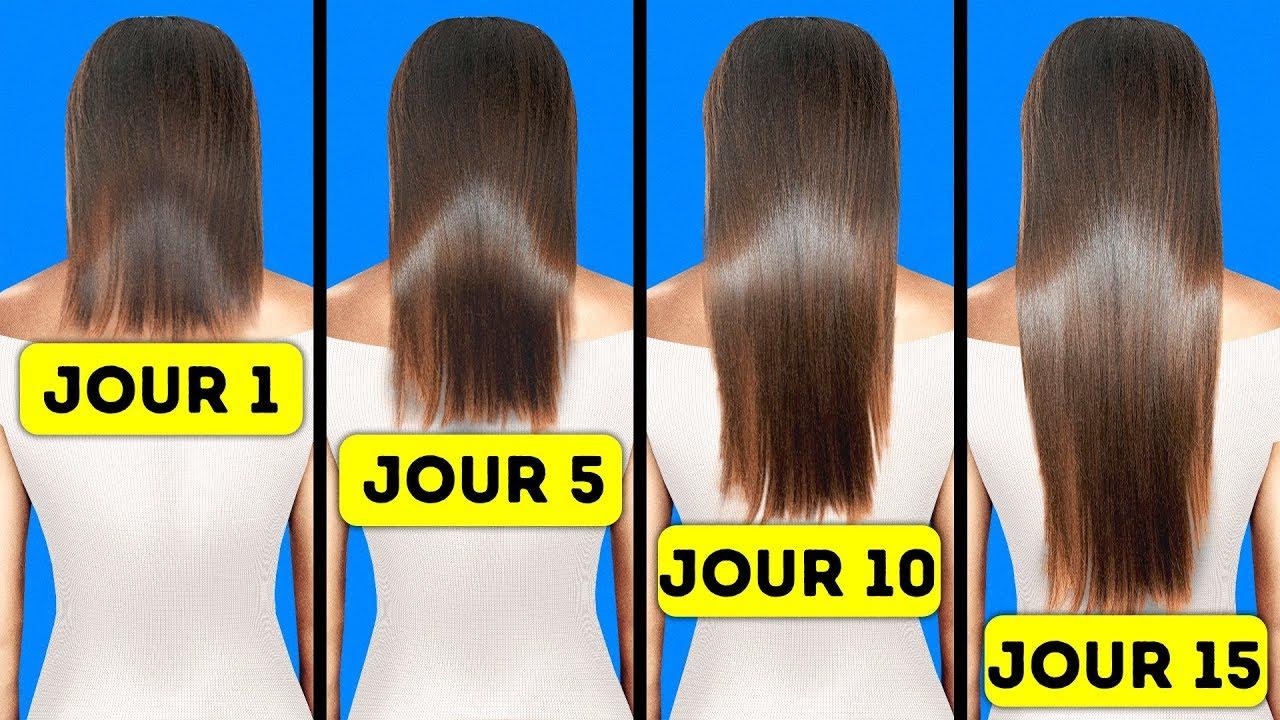 Avoir les cheveux longs en 30 secondes