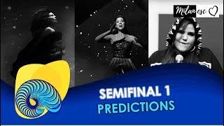 Eurovision 2018 - Semifinal 1 PREDICTIONS