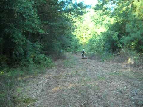 Making a wildlife Food Plot at the Crooked Post Lodge for turkey and deer Hunting!