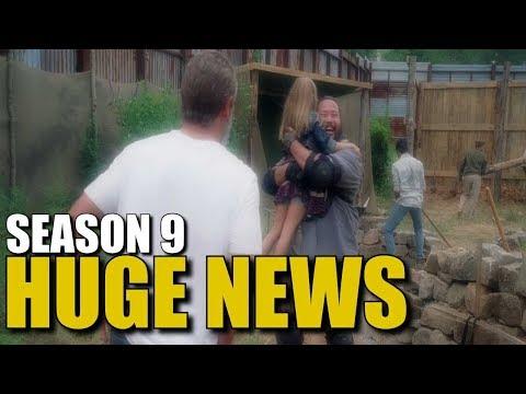 The Walking Dead Season 9 News - Huge News For TWD Season 9 & Beyond
