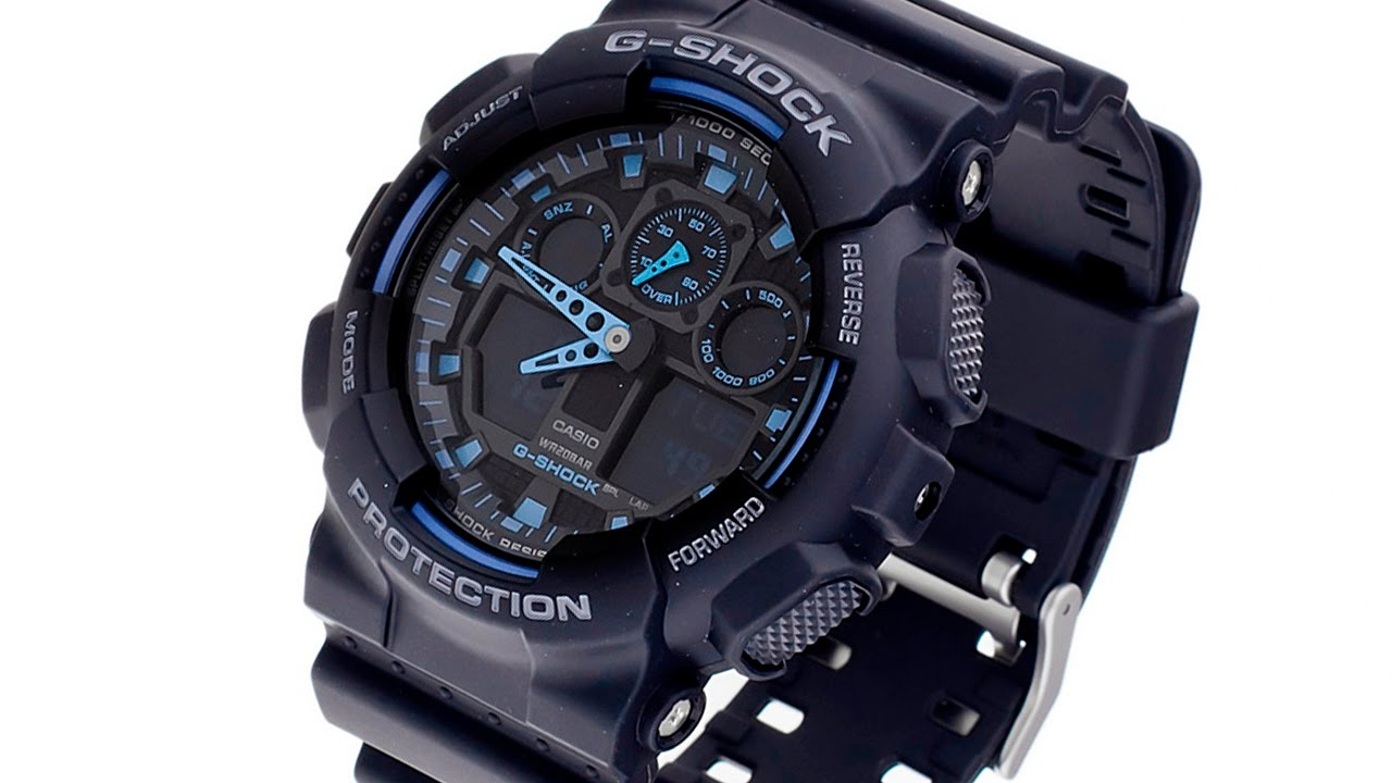 Часы Casio G-Shock 5081 GA-100 - YouTube
