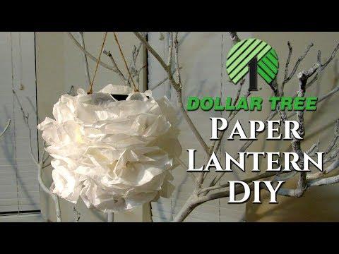 Dollar Tree DIY Paper Lantern