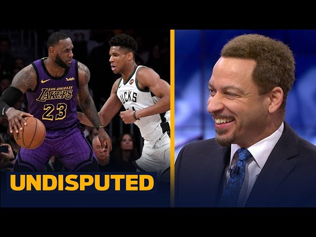 Chris Broussard reacts to Giannis comments on LeBron & being face of the league | NBA | UNDISPUTED