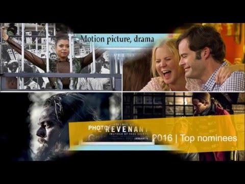 Golden Globes 2016, Complete list of nominees