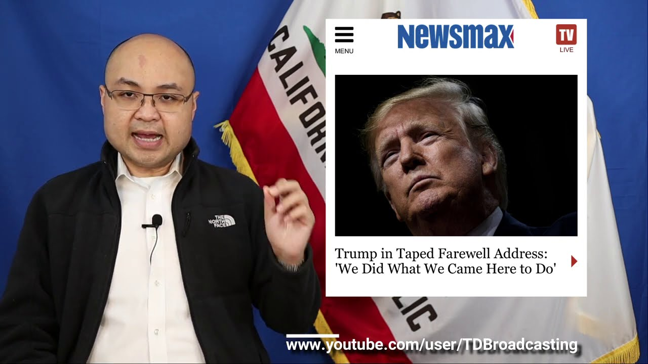 """Nhận xét về diễn văn """"từ biệt"""" của Donald Trump và các bản tin khác - 1.20.2021"""