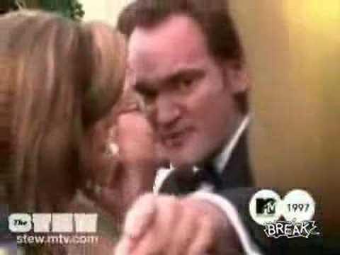 Quentin Tarantino Spits On Reporter