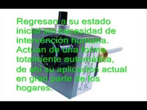 Termostato regulable mp4 doovi for Clases de termostatos