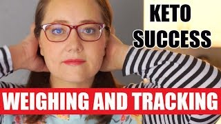 KETO SUCCESS: Weighing and Tracking your food on a ketogenic diet: Mentor Monday Cronometer