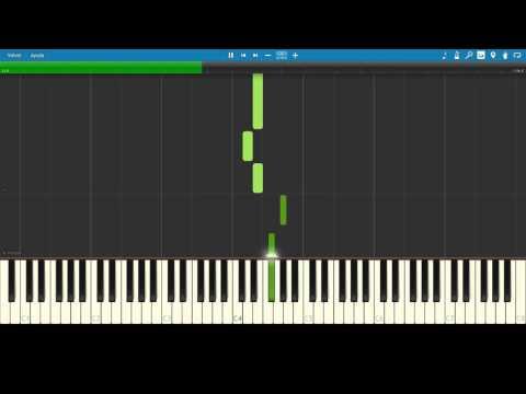 [ Synthesia - MIDI - ANIME ] Elfen Lied - Lilium Opening EASY PIANO