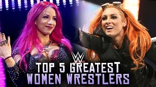 5 greatest wwe women wrestlers of 2016