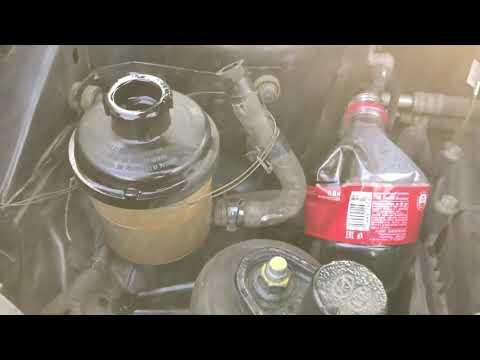 Замена жидкости в ГУР на Kia Rio и Hyundai Solaris