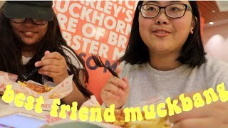 How we Met? Future Plans? Best Friend Tag // muckbang with my best friend
