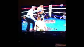 oscar valdez beat matias rueda 2nd round knock out new 126 featherweight wbo champion
