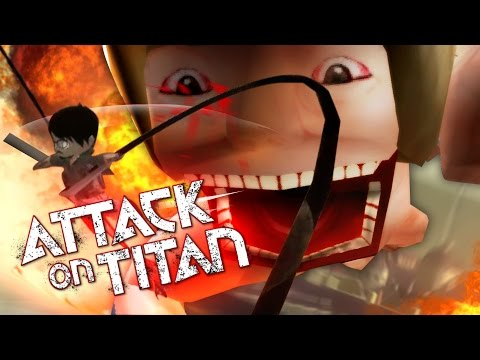 AWESOME ATTACK ON TITAN GAME! | Attack On Titan Tribute Game! (Funny Moments)