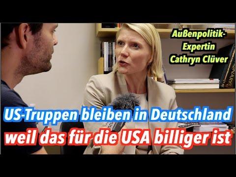Warum die USA ihre Soldaten nicht aus Deutschland abziehen (Cathryn Clüver)