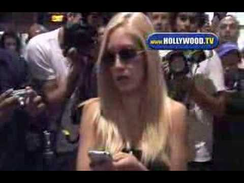 Chaos At LAX With Heidi Montag And Spencer