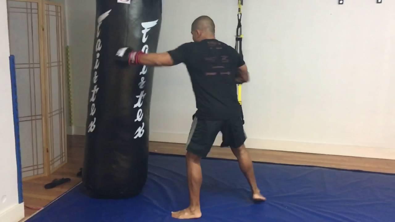 Fairtex Pole Bag at The Mango Tree - YouTube