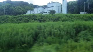 栗田~宮津駅、京都丹後鉄道宮舞線、進行方向左側車窓から