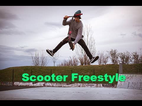 The Best Tricks Of Scooter Freestyle Youtube
