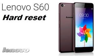 Hard reset Lenovo S60   Сброс Lenovo S60,  сброс до заводских. Хард ресет андроид
