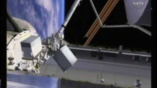 STS-128: EVA-1 (time lapse) [with overview]