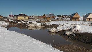 «Озерная долина оправдывает свое название»: под Казанью затопило коттеджный поселок