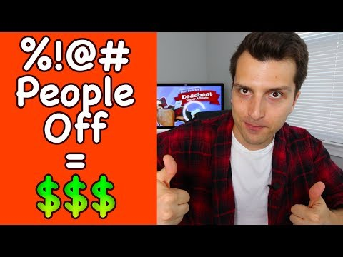 How To Make Money Online By Ing People Off Controversial