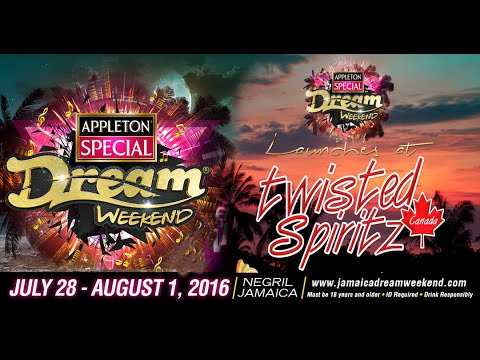 Dream Weekend marketing director Ron Burke promoting Twisted Spiritz Canada and  Dream Weekend 2016
