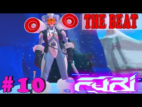 FURI Gameplay Boss #10: THE BEAT | INFERNO ENDING Walkthrough PC Full HD No Commentary
