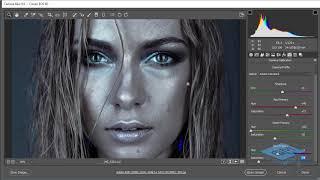 Красим кожу в серебряный цвет в Abobe Photoshop