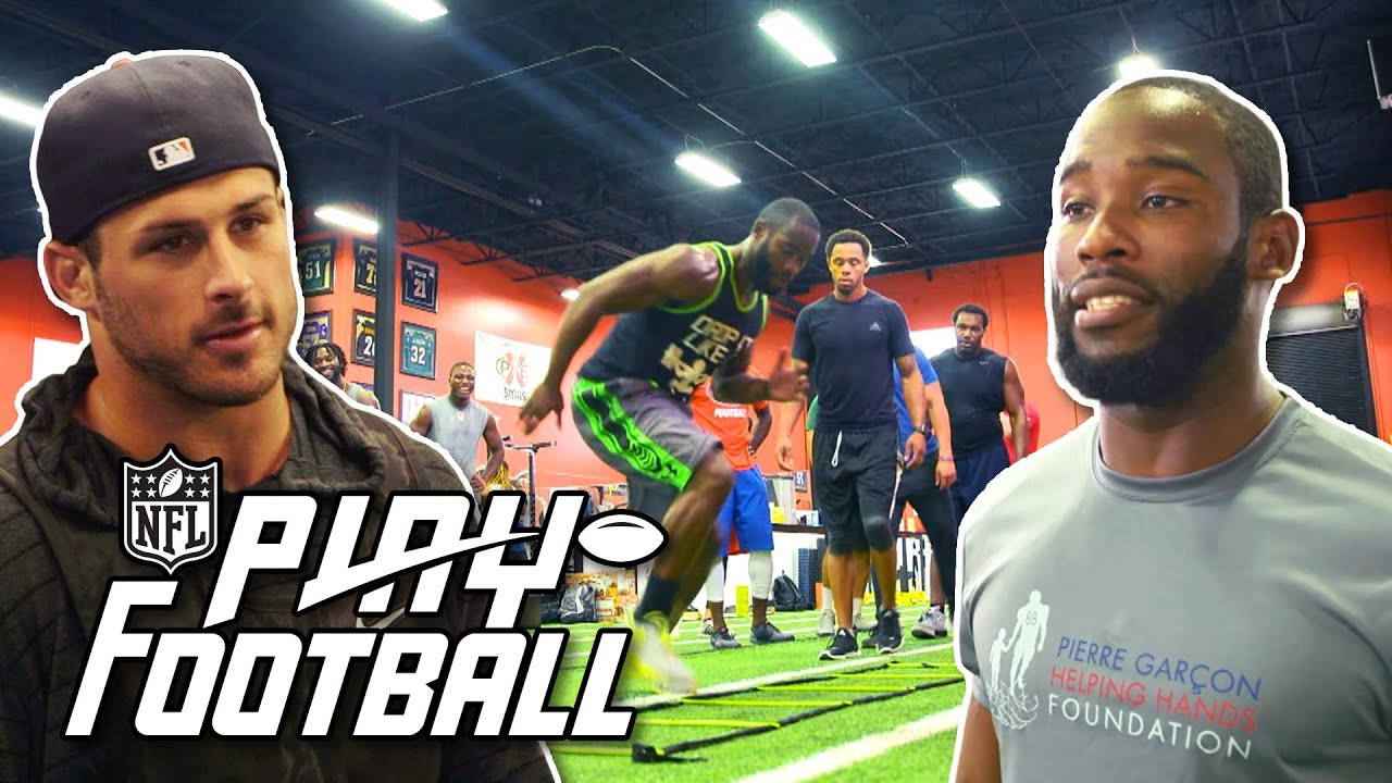 How to Train Like a Wide Receiver: Improve Top Speed, Footwork, & Body Control