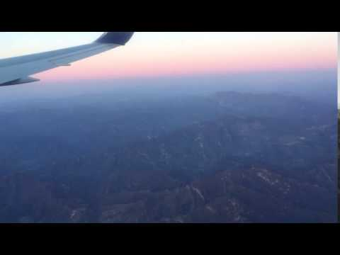 Mountains at China - Flight from Baku to Beijing by Azal - 4