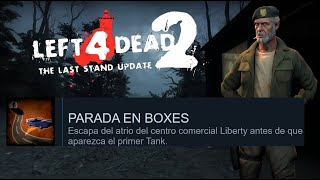 Logro Parada en Boxes/Pole Position | Left 4 Dead: The Last Stand Update Achivements