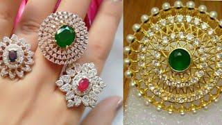 Rajputi Round Ring Design / Ring Design / Round shaped Ring Design