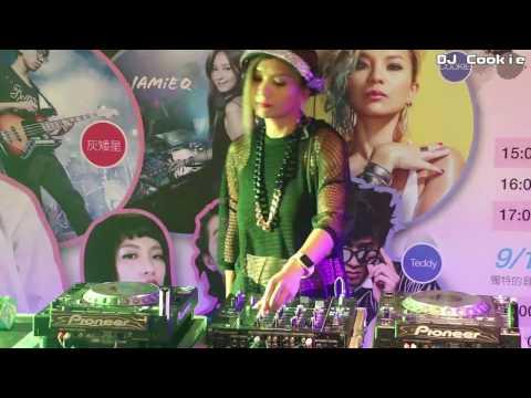 亞洲首席女DJ【dj cookie】@台中新光三越百貨 Fun Stage