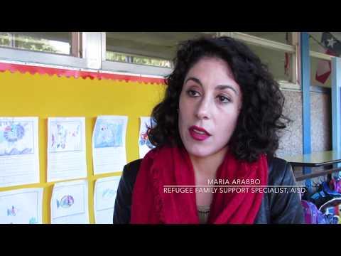 AISD and the UT-Austin Refugee Student Mentor Program