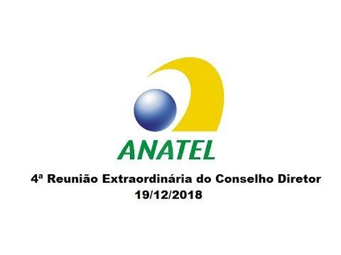 4ª Reunião Extraordinária do Conselho Diretor, de 19/12/2018