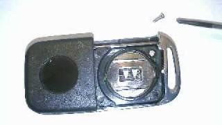 Transponder Umrüstung Klappschlüssel Fernbedienung Zentralverriegelung