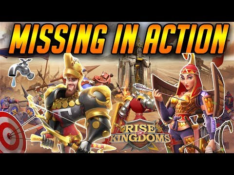 New Commanders Missing in Action [ New Info ] | Rise of Kingdoms