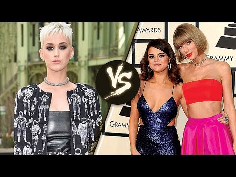 Katy Perry & Taylor Swift Feud Continues...