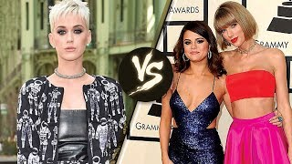 Katy Perry & Taylor Swift Feud Continues at 2017 VMAs - How is Selena Gomez Involved?