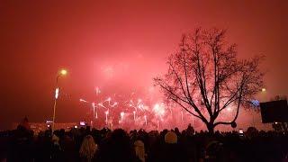 НОВЫЙ 2018 ГОД! Новогодний фейерверк в Риге!