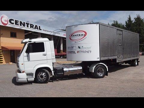 Caminhão 3/4 carreta é viável?