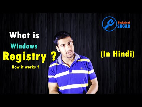 What is Windows Registry ? How it works | (In Hindi)