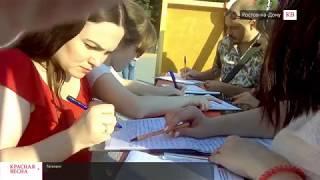 Массовый пикет против пенсионной реформы в Ростове-на-Дону. 19 августа 2018 года